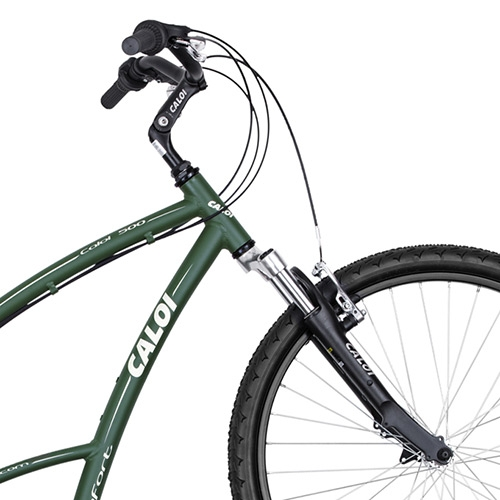 943d2f776 Bicicleta Caloi 500 Sport M Verde 21 Marchas Aro 26